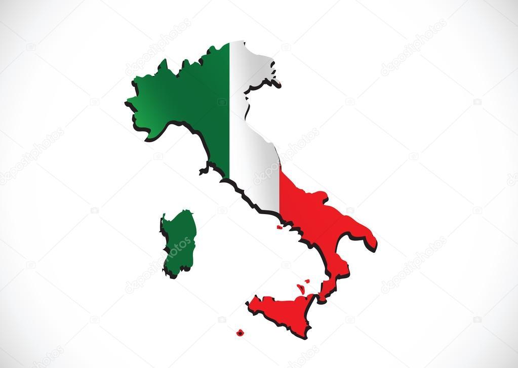 itali u00eb kaart en vlag idee ontwerp stockvector  u00a9 porjai elk clip art free elk clip art png
