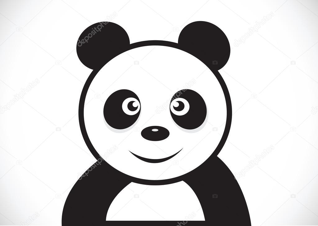 Cartone animato panda — vettoriali stock porjai