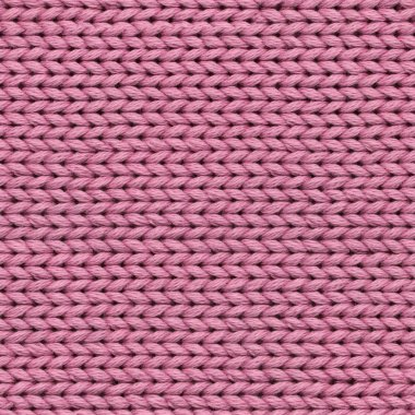 Purple-Red Detailed Seamless Fabric Wool Texture-Pattern