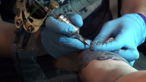 Tattooing on the body