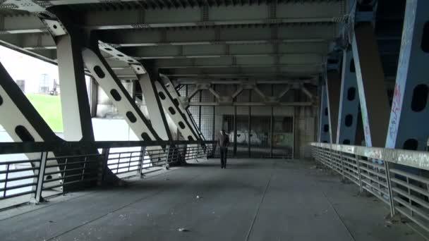 The reinforced concrete bridge