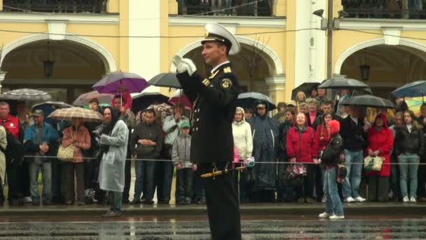Conductor of the military orchestra
