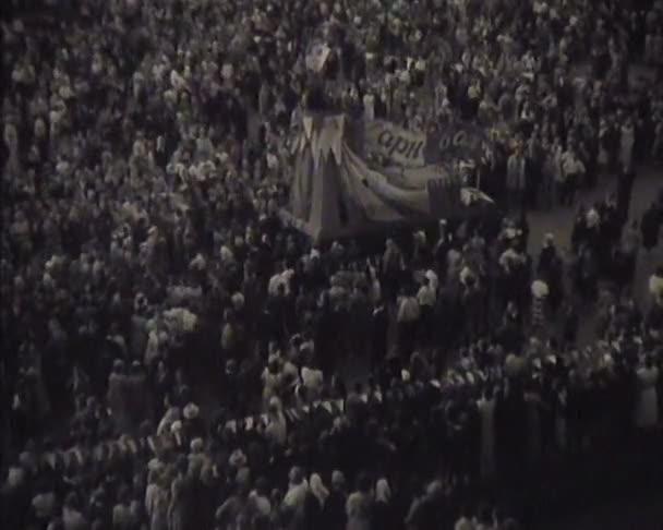 híradó Szovjetunió, táncok a fesztiválon