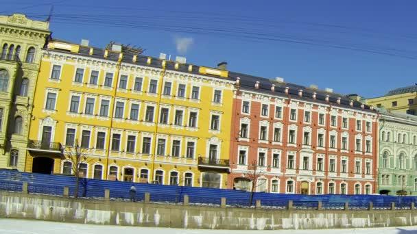 Fassade eines Altbaus in St. Peter