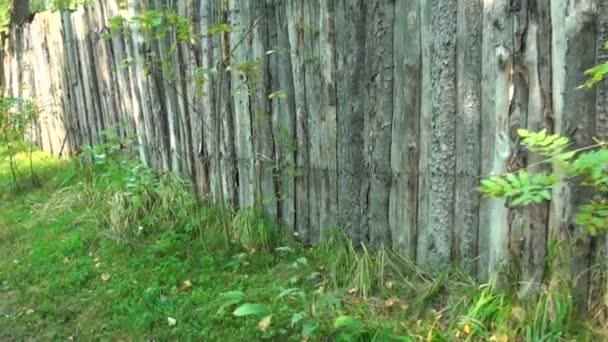 closeup starý dřevěný plot