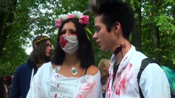 přehlídka zombie