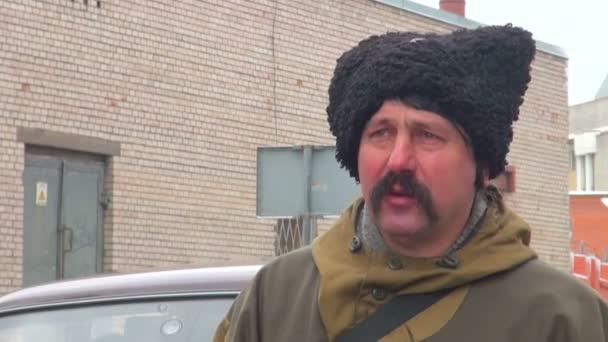 Kozak with a mustache