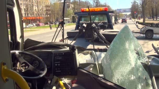 evakuace broken autobus