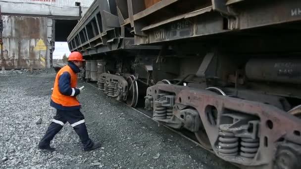 nákladní freigt vlaku železnice