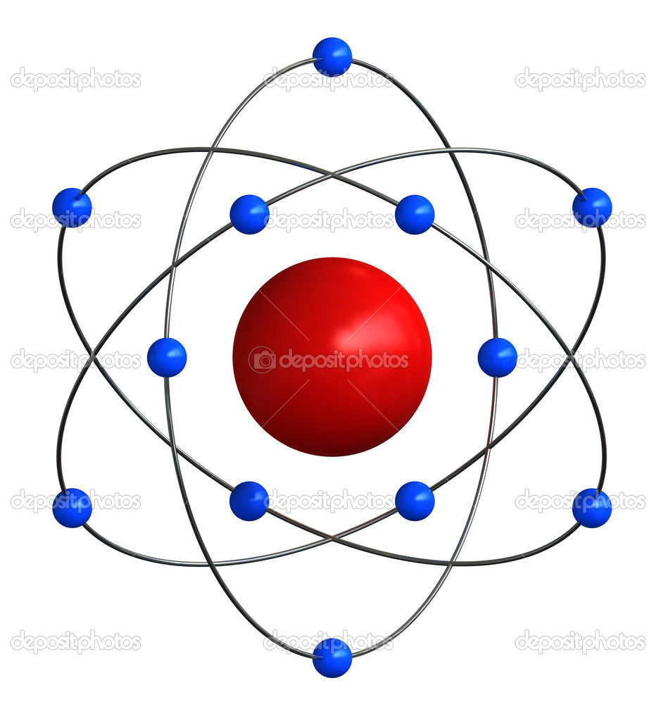 Estrutura Atômica Stock Photo Oorka5 30535941