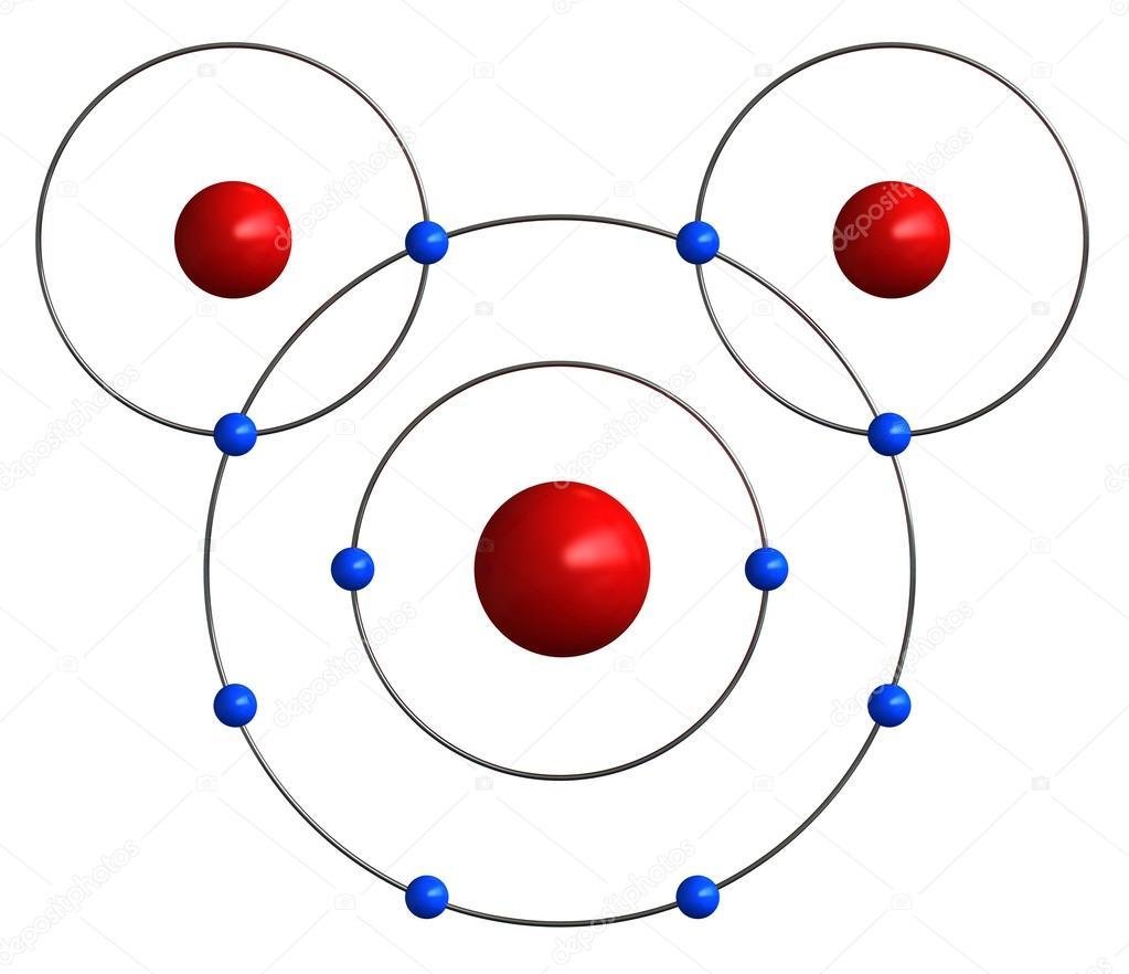 Imágenes Dibujo De La Estructura Atomica Del Oxigeno