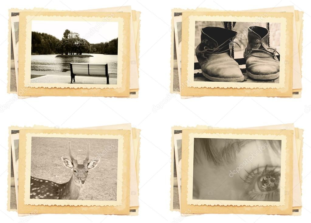 vintage photos stock photo strelov 17373441. Black Bedroom Furniture Sets. Home Design Ideas