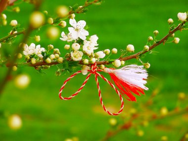 Martisor - romanian symbol of the beginning of spring.