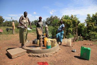 Pumping Water - Uganda, Africa