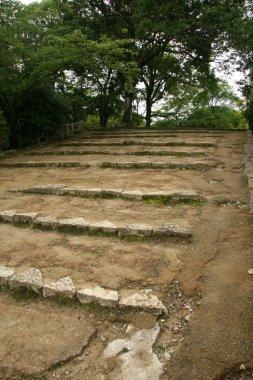 Steps, Himeji Castle, Japan