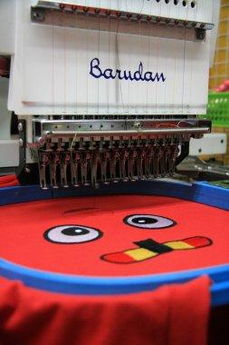 T-Shirt Embroidery Machines - Asakusa, Tokyo City, Japan