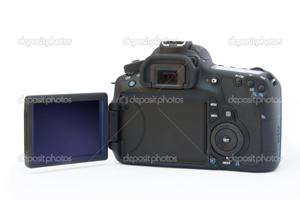 cuerpo de cámara canon eos 60D — Foto de stock © Angelika #13539417