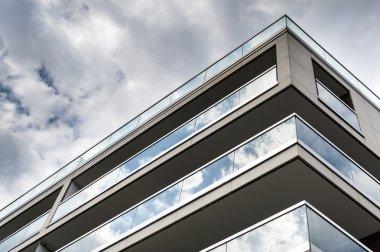 Modern real estate building