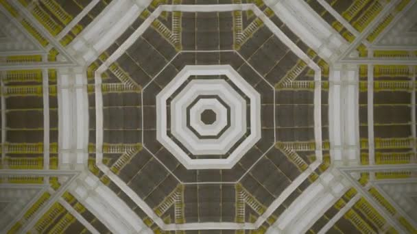 Kaleidoscopic abstract fractal animation
