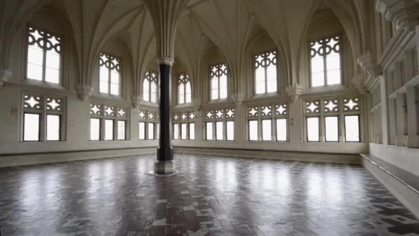 komora v největší gotický hrad v Evropě - malbork