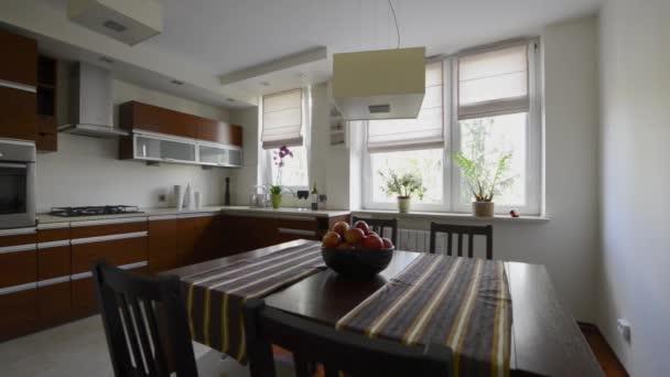 Modern konyha lakberendezés bronz színű