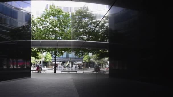 Architektura moderní kancelář v centru města Varšava, Polsko