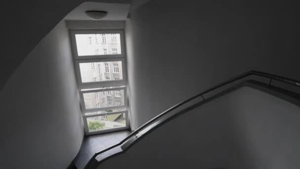 moderní točité schodiště architektury interiérového designu
