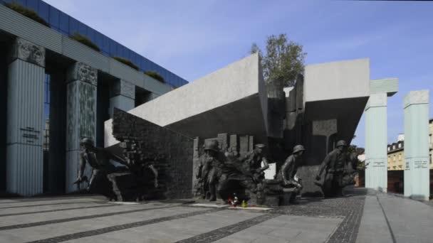 Památník Varšavské povstání ve Varšavě, Polsko