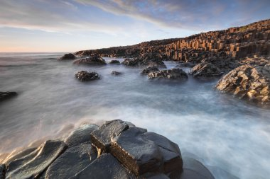 The Giants Causeway in North Ireland