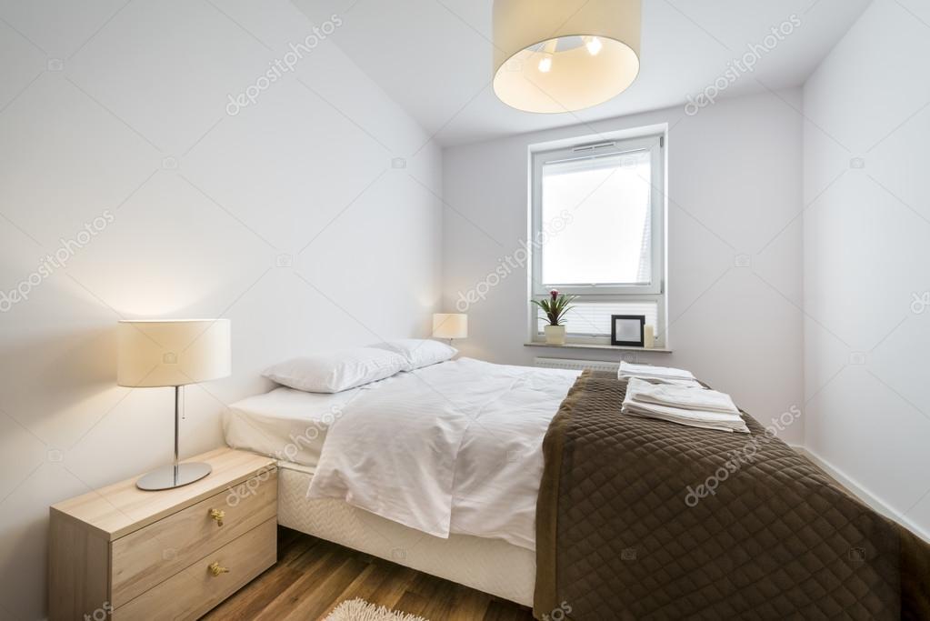 Scandinavische Kleuren Slaapkamer : Moderne scandinavische interieur slaapkamer u stockfoto