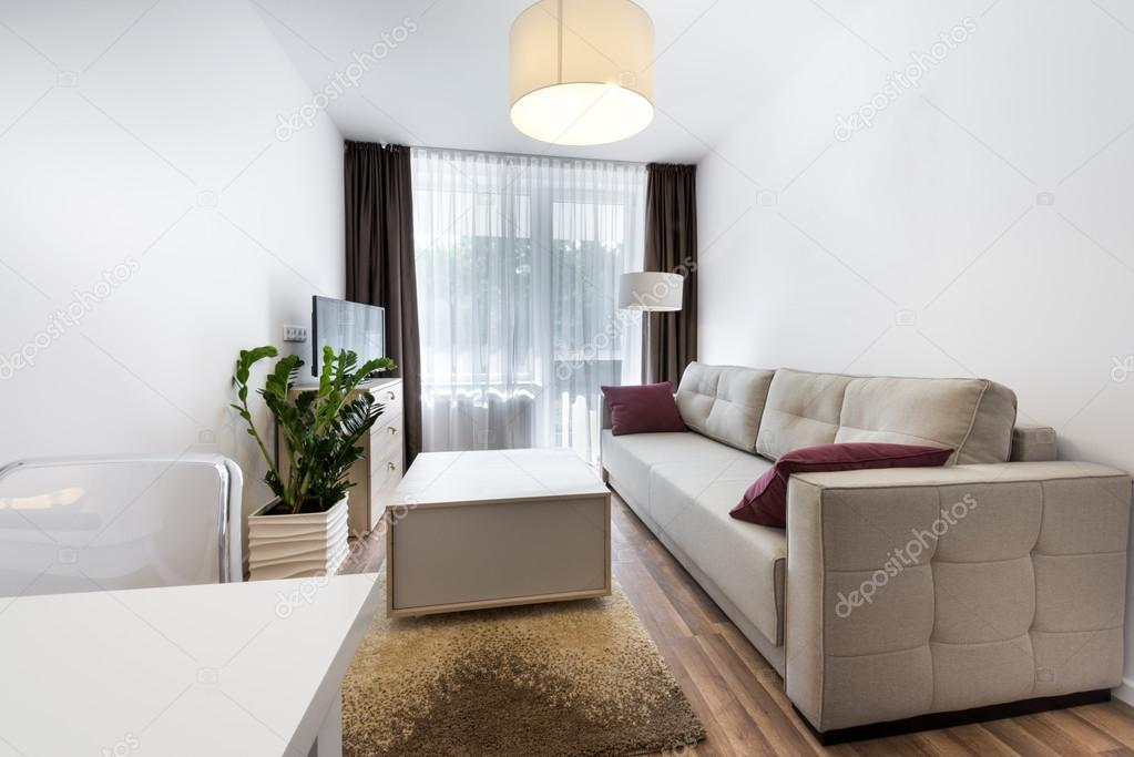 현대 인테리어 디자인 작은 방 — 스톡 사진 © jacek_kadaj #47632923
