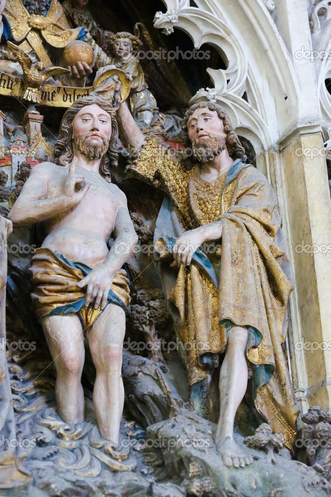 Taufe Jesu Stockfoto Jorisvo 21279275