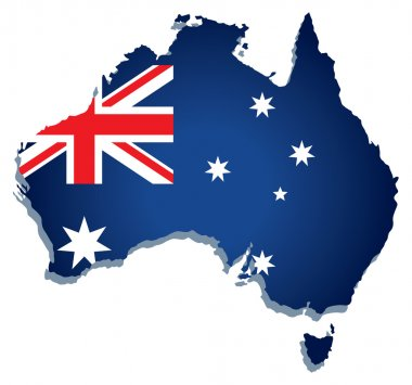 Australia vector flag