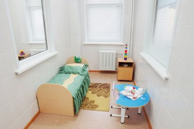 Individual ward in a pediatric hospital