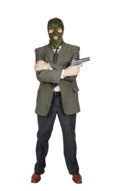 Mafioso with a handgun
