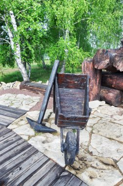 Exhibit in Memorial of the victims of Stalinist repression in the town of Mariinsk, Kemerovskaya region, Siberia, Russia