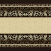 Vintage pozadí, starožitný, viktoriánské stříbrné, květinový ornament eleganci na pozvánka, přání
