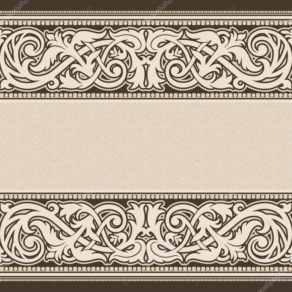 fond vintage ornement antique victorien cadre baroque. Black Bedroom Furniture Sets. Home Design Ideas