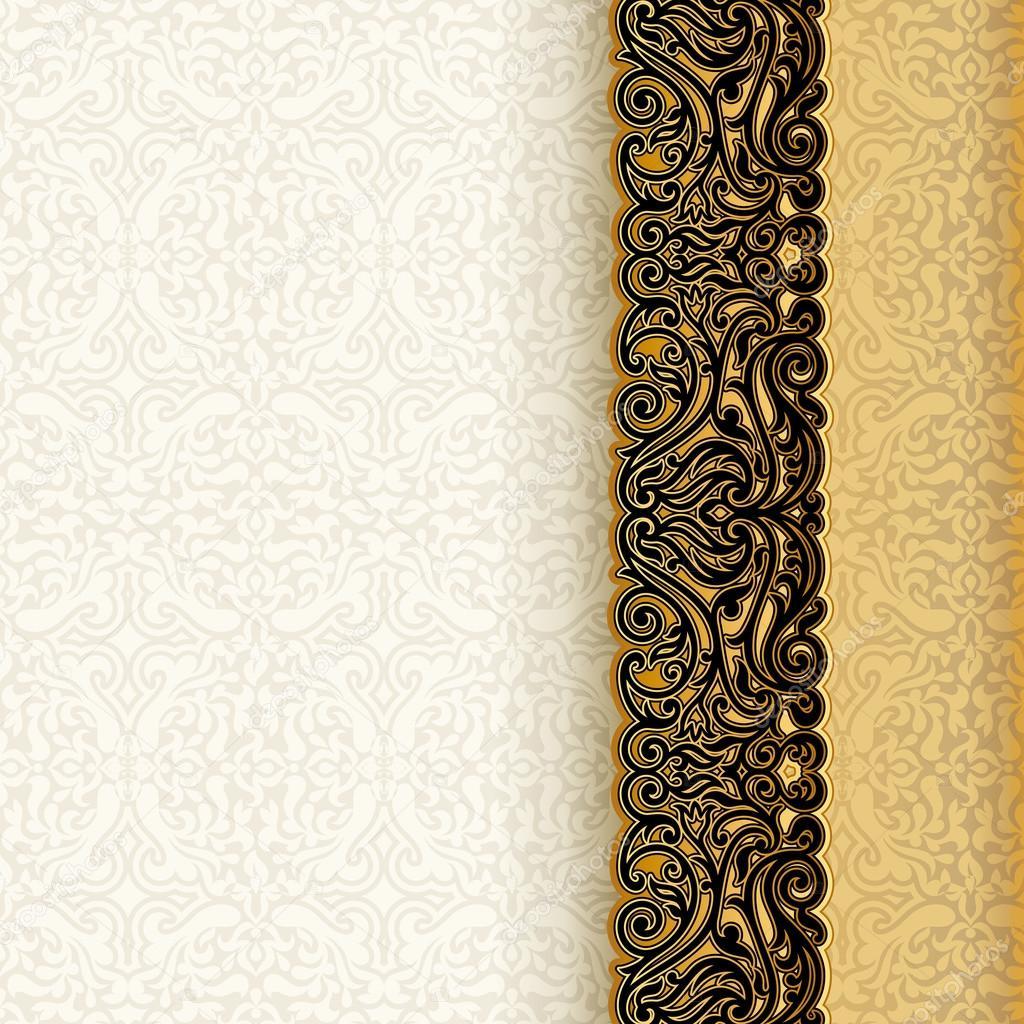 Background Royal For Invitation Vintage Background
