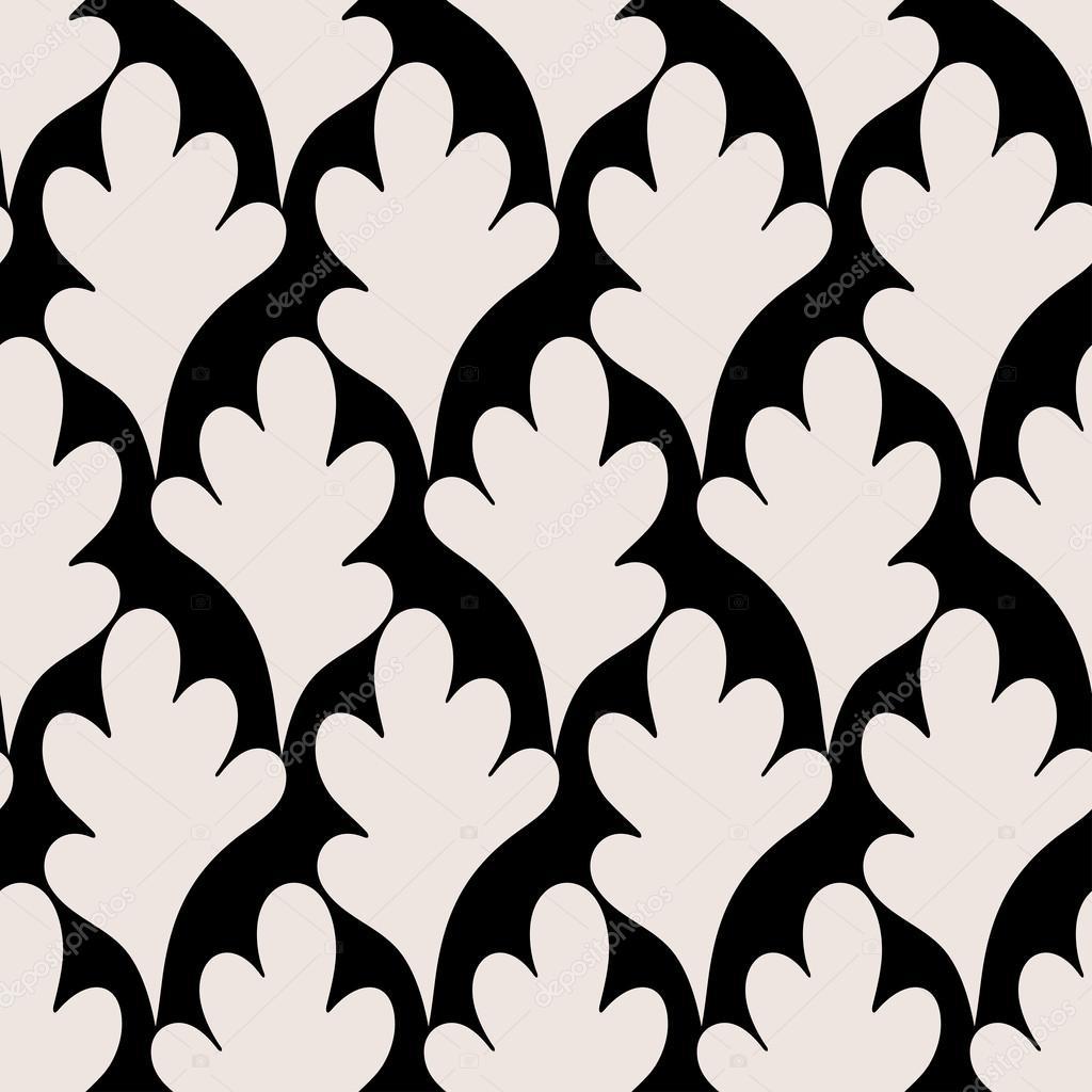 Resumen hojas de fondo, contemporáneo de patrones sin fisuras ...