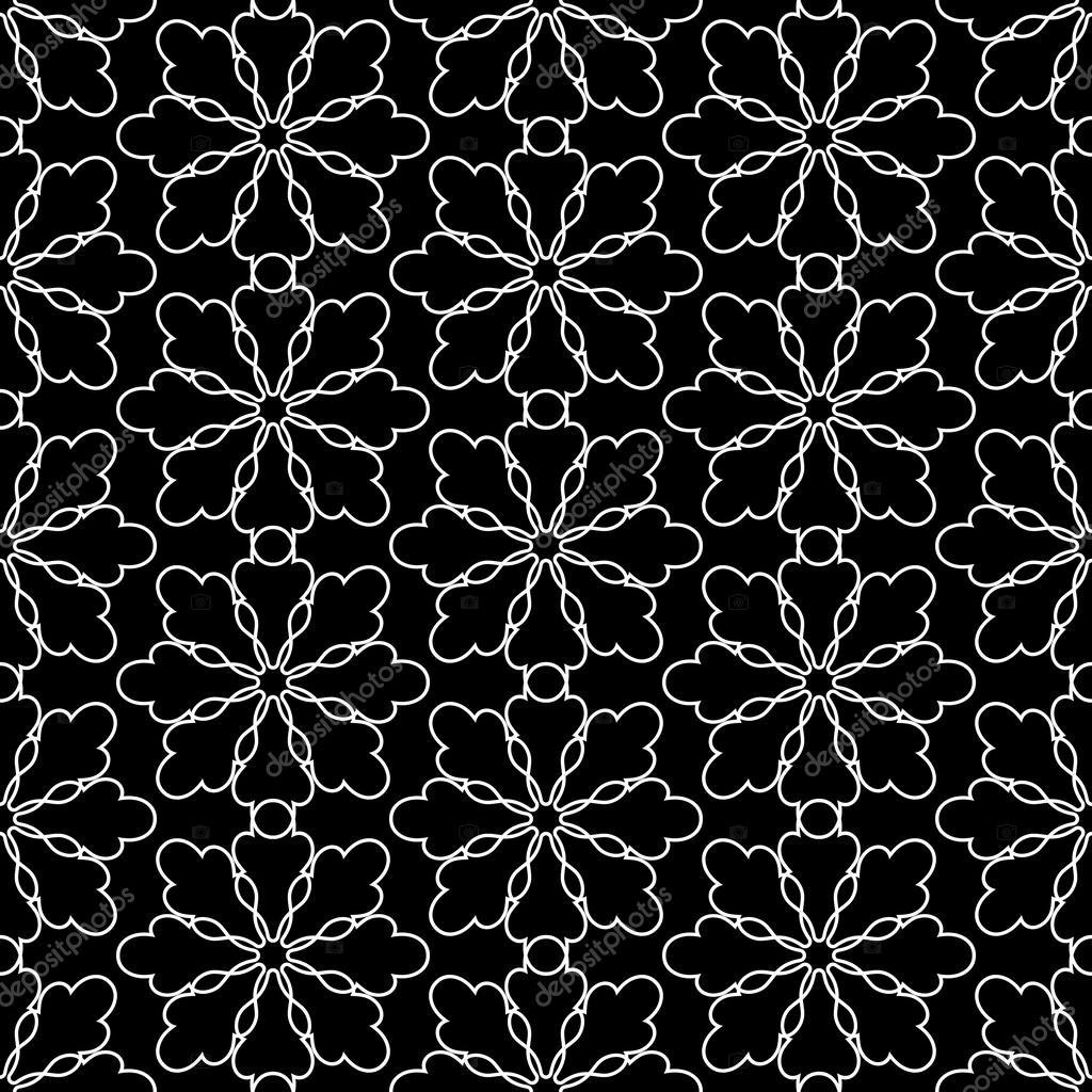 damast sch nen hintergr nden altmodische nahtlose muster schwarz vektor tapete florales. Black Bedroom Furniture Sets. Home Design Ideas