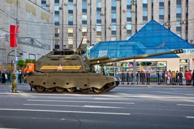 Military parade in Moscow on 9th of May