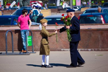 Victory day celebrations in Moscow