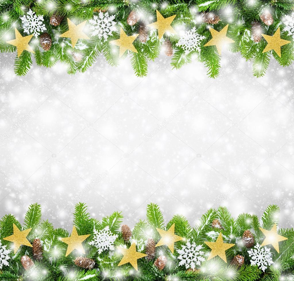 Weihnachten Rahmen als Hintergrund — Stockfoto © Smileus #36454955
