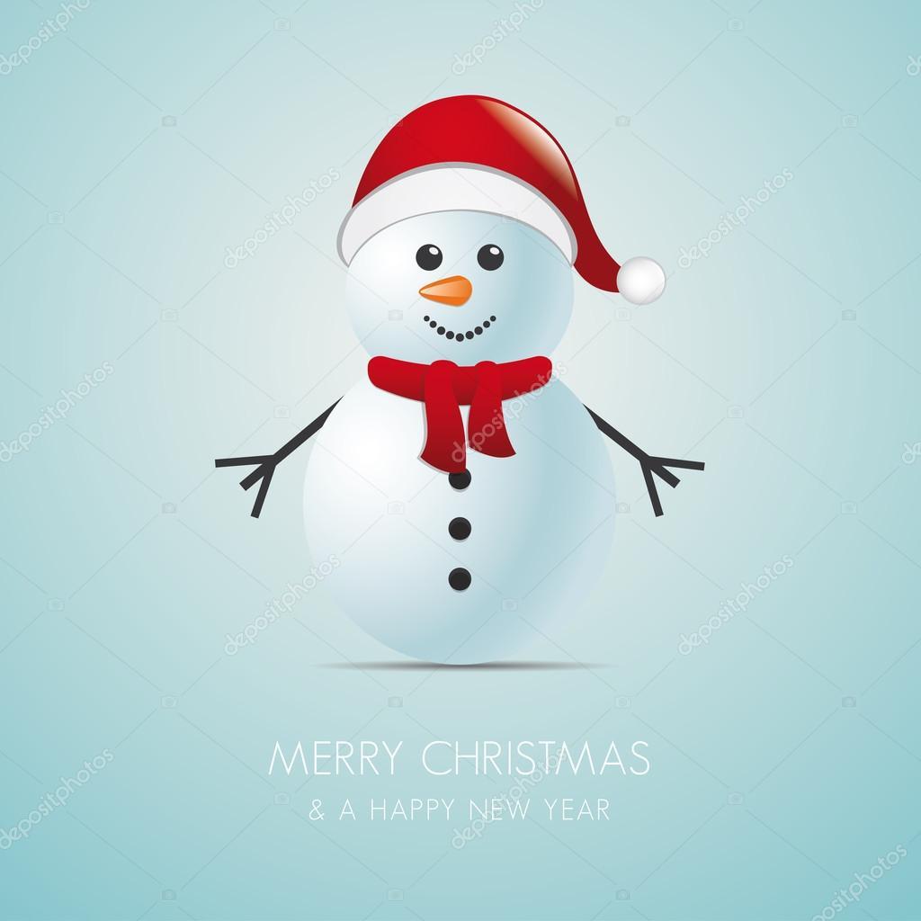 pupazzo di neve con sciarpa 06611577f28e