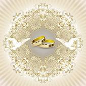 svatební pozvánky s krásným zdobením