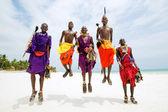 masajská muži