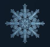 Fotografie Crystal krásné sněhové vločky
