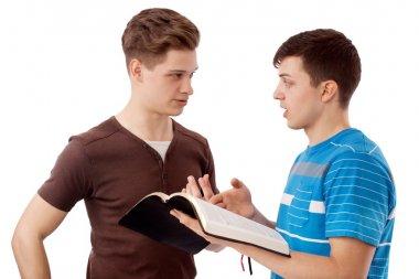 Spiritual discussion
