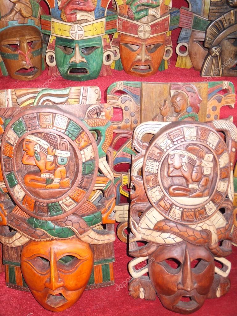 Su Artesania De Los Mayas Artesanías Mayas Foto De Stock